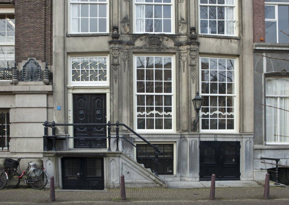 Bel Etage  File Voorgevel bel etage met ingangspartij Amsterdam