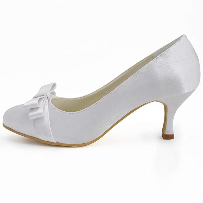 Bequeme Pumps Hochzeit  Brautschuhe Bequem Free King Shoes Damen Brautschuhe