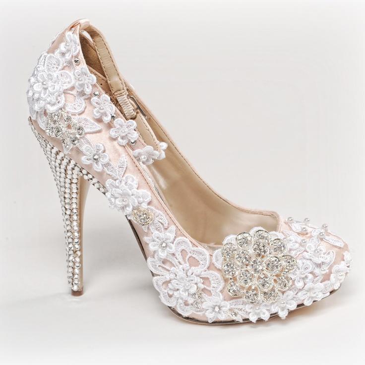 Bequeme Pumps Hochzeit  Elara Damen Pumps Bequeme Strass High Heels