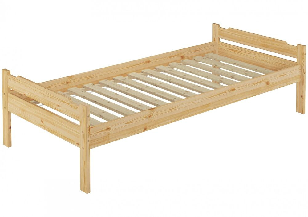 Bett 80x200  Bett 80x200 Kiefer massiv Jugendbett Kinderbett