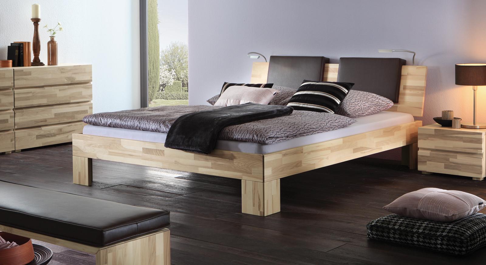 Bett Komplett  Bett komplett mit Lattenrost und Matratzen Bett El Paso