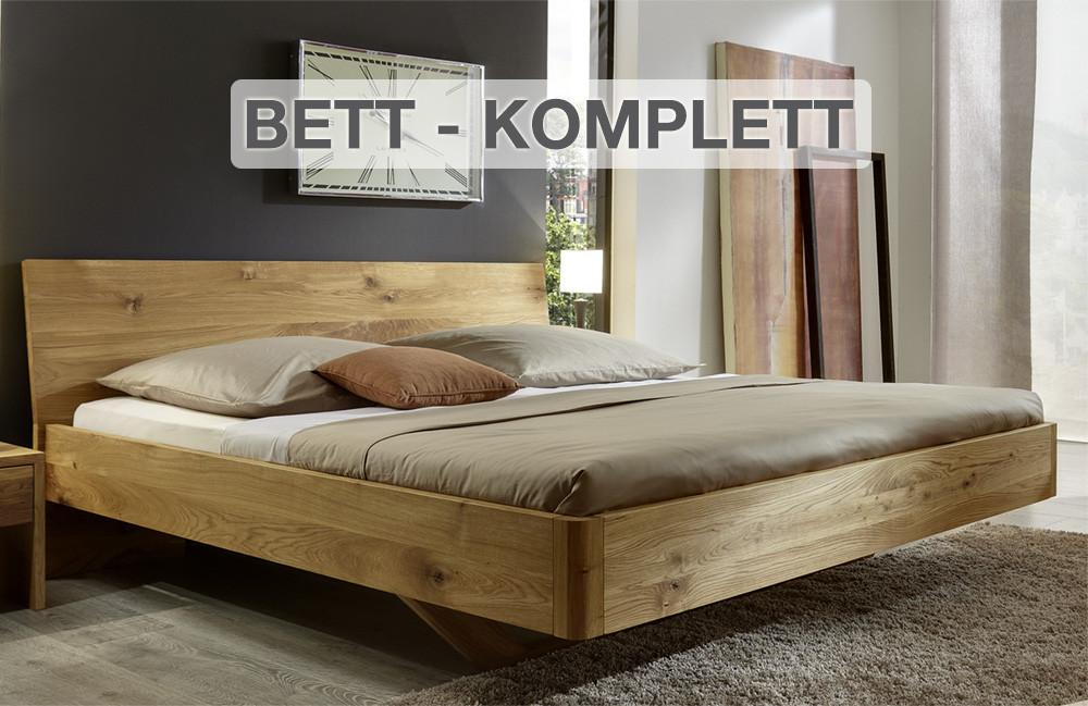 Bett Komplett  Bett Set Bett mit Matratze Vista