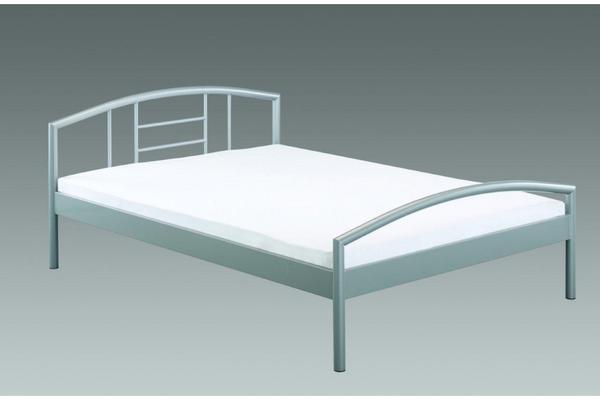 Bett Metall  Aingoo Gästebett Einzelbett Single Bett Metallbett Metall