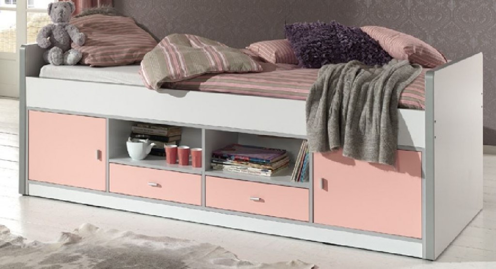 Bett Mit Schrank  Kinderzimmer Bonny Kojenbett mit Kleiderschrank Kinderbett