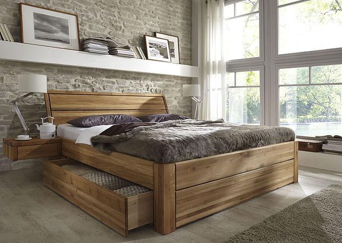 Bett Mit Schubladen 180x200  Bett mit Schubladen Massivholz Möbel in Goslar