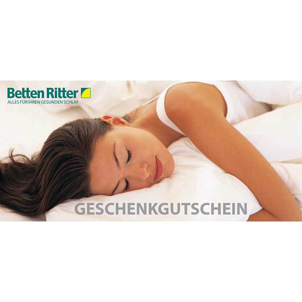 Betten Ritter Karlsruhe  Geschenkgutschein