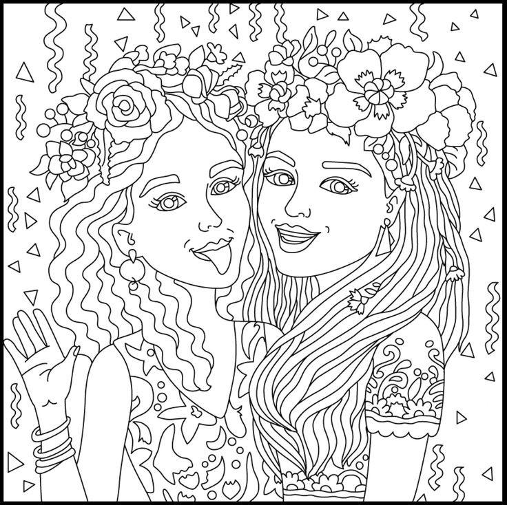Bff Ausmalbilder  5845 best Print&Coloring images on Pinterest