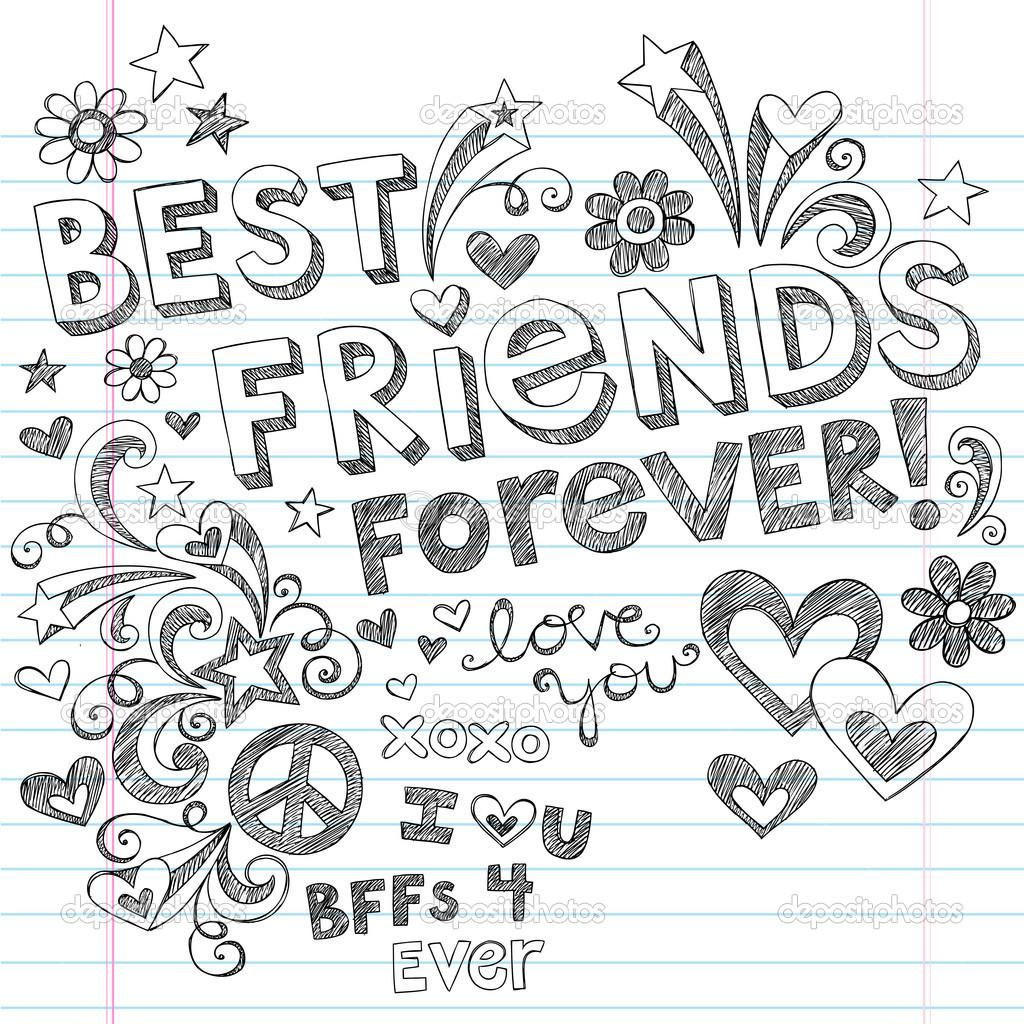 Bff Ausmalbilder  5 Beautiful Bff Coloring Pages Ngbasic At