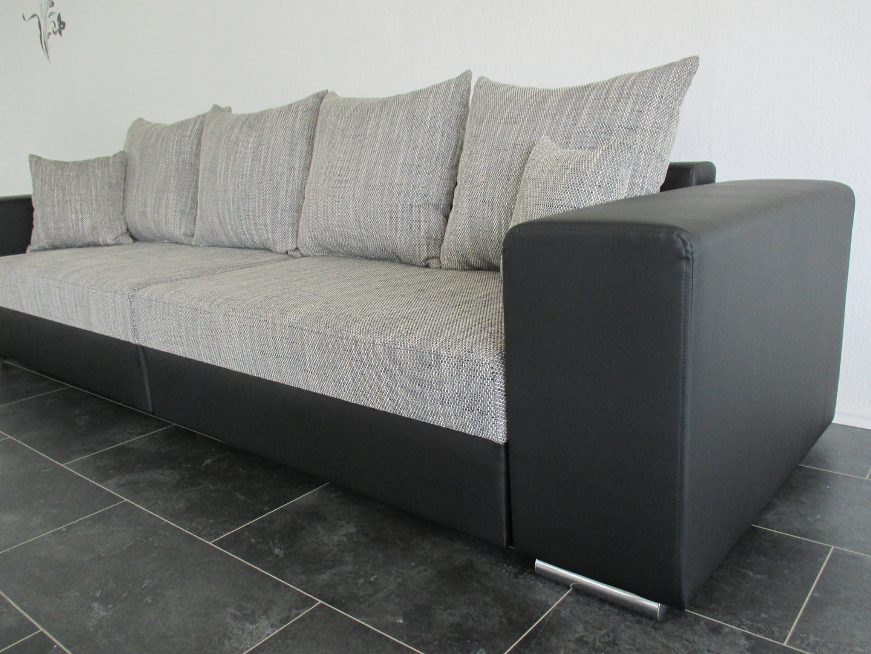 Big Sofa Günstig  BIG SOFA mit Bettfunktion Sofa Lagerverkauf