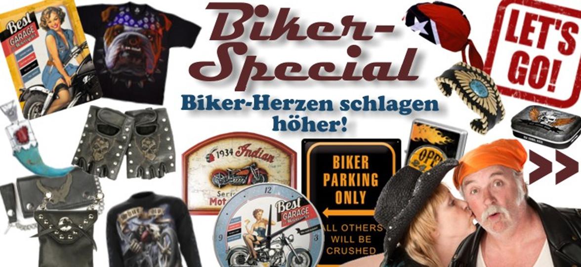 """Biker Geschenke  Flaschenhalter """"Motorradfahrer"""" 37 x 14 x H 40 cm – pro"""