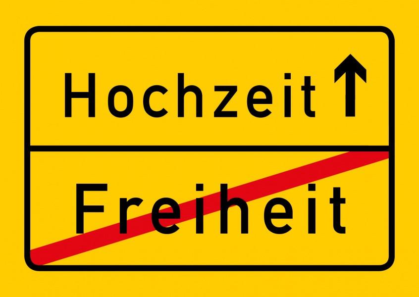 Bilder Hochzeit Lustig  Hochzeit vs Freiheit Humor