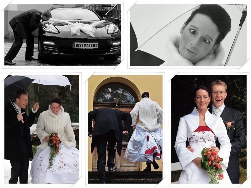 Bilder Hochzeit Lustig  Lustige Hochzeit Foto & Bild