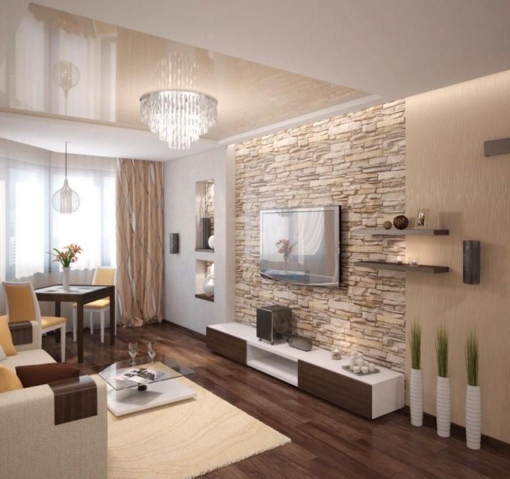 Bilder Wohnzimmer  steinwand wohnzimmer modern steinwand wohnzimmer modern