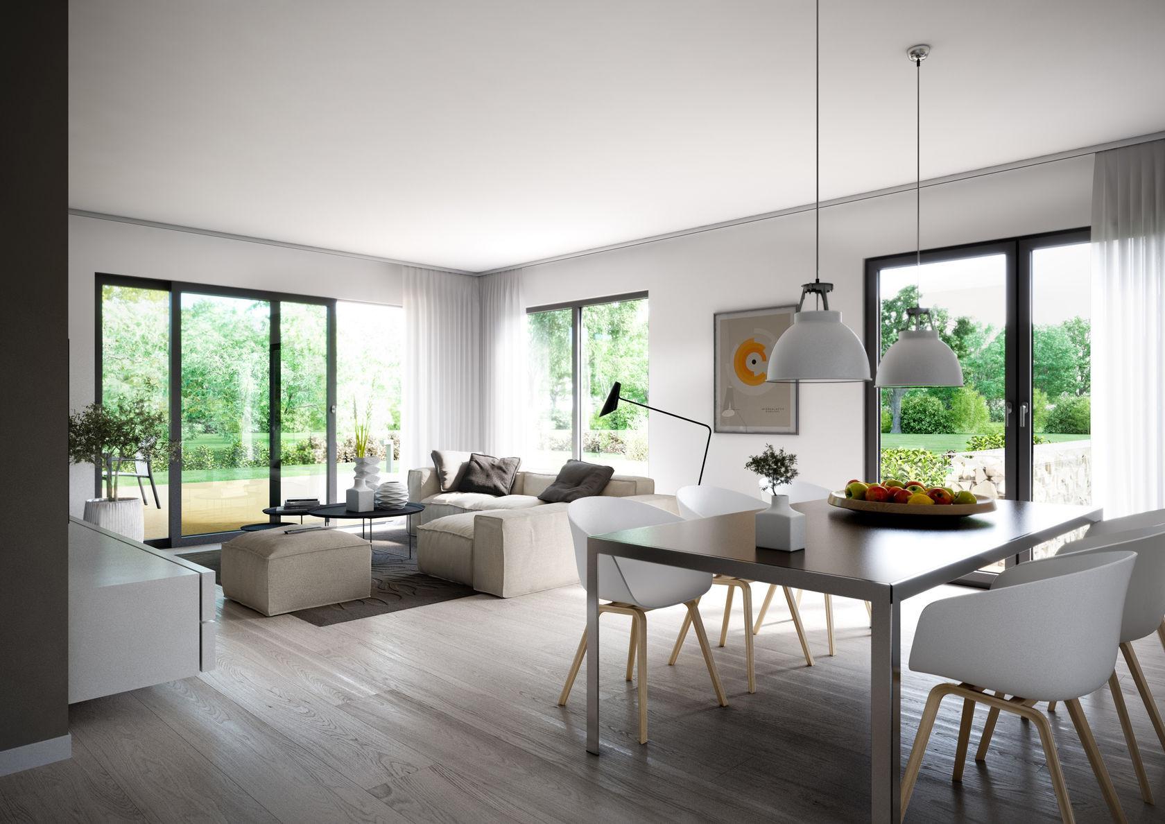 Bilder Wohnzimmer  Futura Bauhaus von Kern Haus