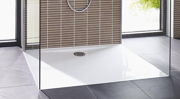 Bodenebene Dusche  barrierefreie Dusche bodenebene Duschflächen kaufen