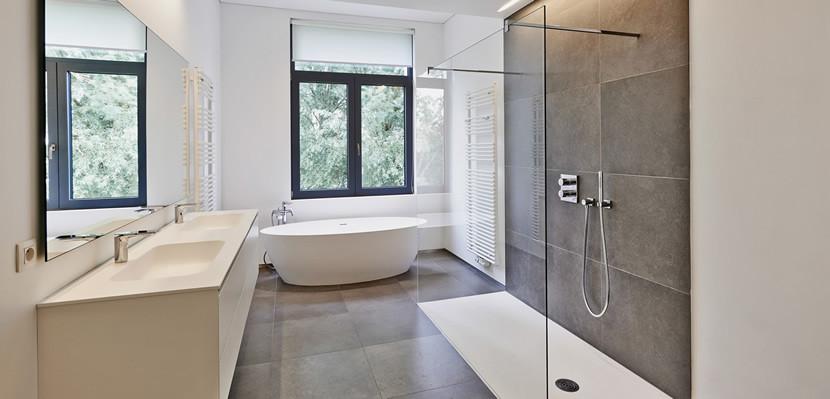 Bodenebene Dusche  Up to date duschen Die Badezimmertrends 2017 › Nürminger