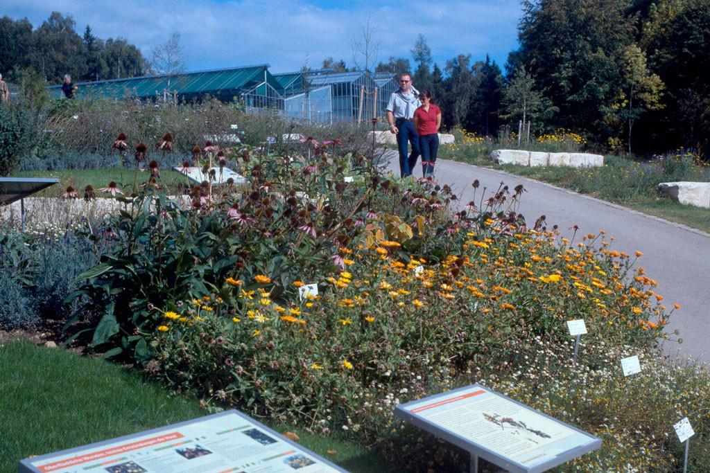 Botanischer Garten Ulm  Botanischer Garten Ulm Gärten & Parks Tourist Info Ulm