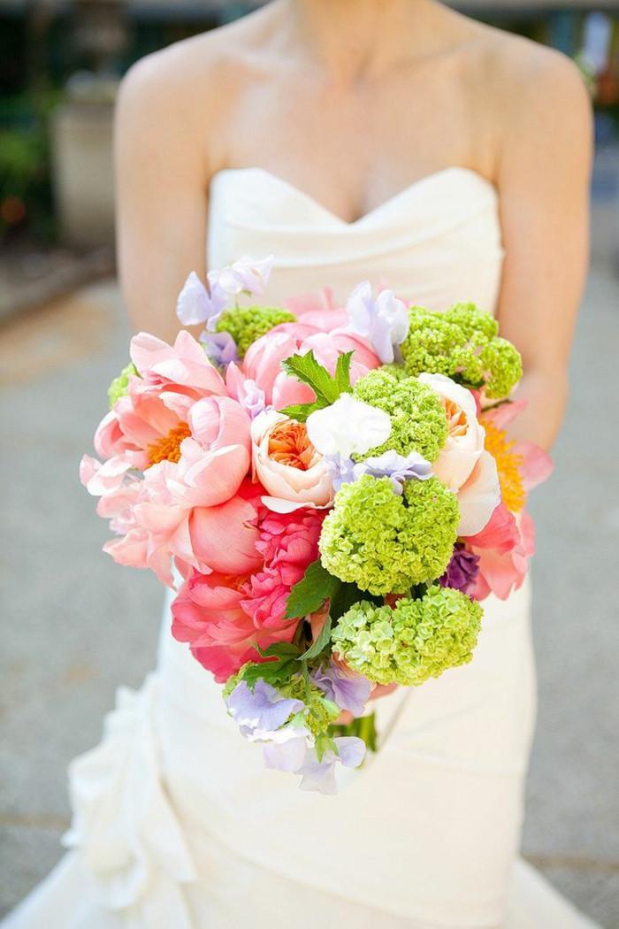 Brautstrauß Hortensien  Seine Majestät der Brautstrauß
