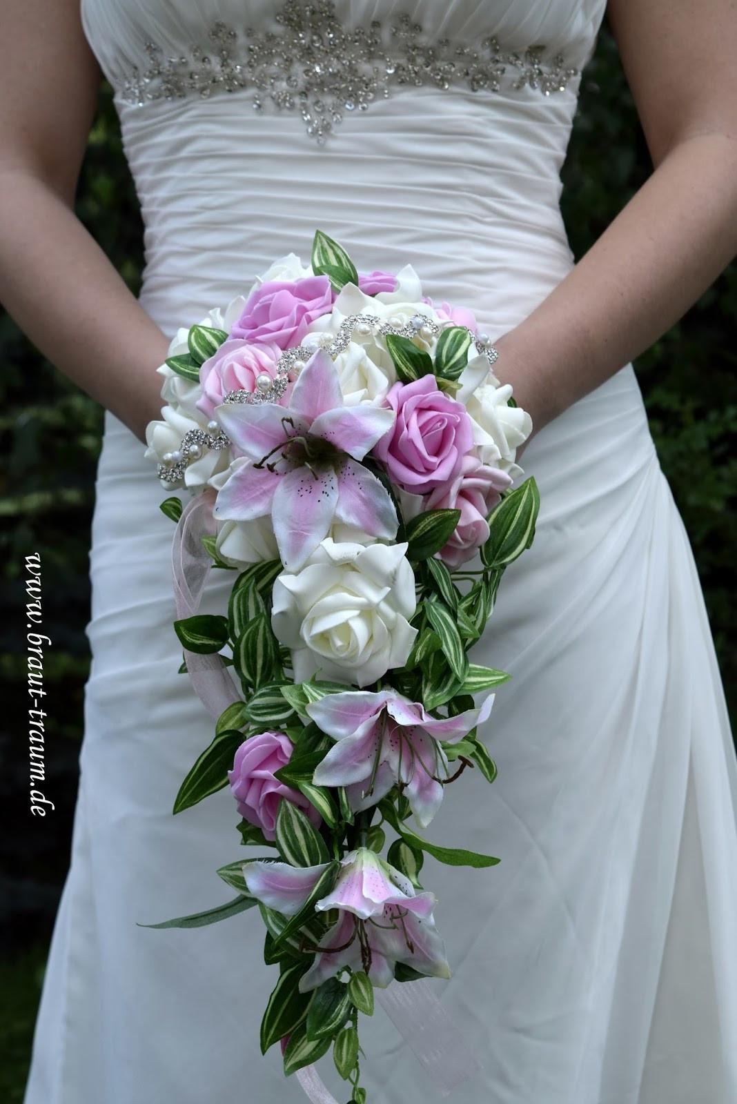 Brautstrauß Juni  Braut Traum Träume werden wahr Brautstrauss
