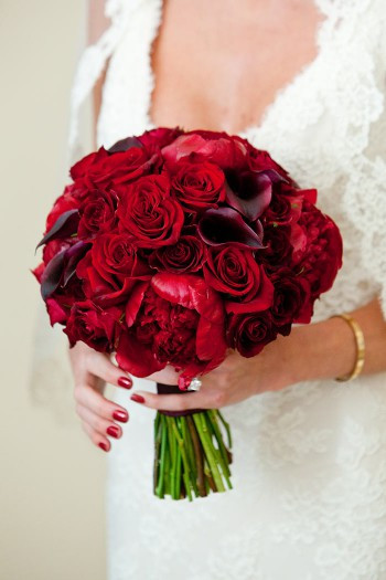 Brautstrauß Rote Rosen  Brautstrauß mit roten Rosen Bildergalerie Hochzeitsportal24