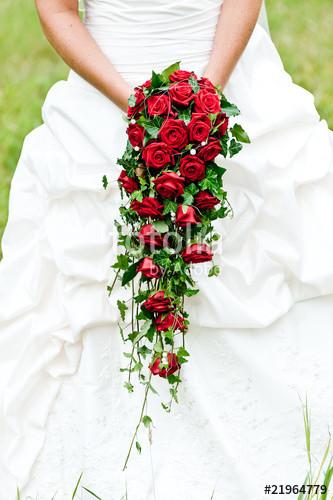 """Brautstrauß Rote Rosen  """"Brautstrauss rote Rosen"""" Stockfotos und lizenzfreie"""