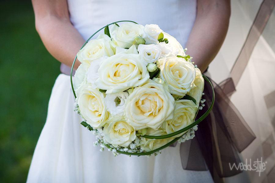 Brautstrauß Weiß  Brautstrauss