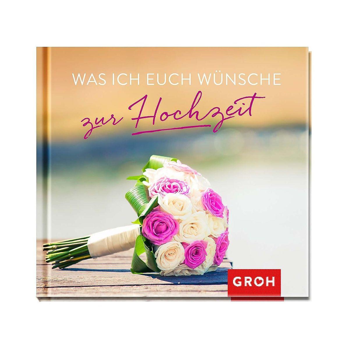 Buch Zur Hochzeit  Buch Mini Was ich euch wünsche zur Hochzeit Depot DE