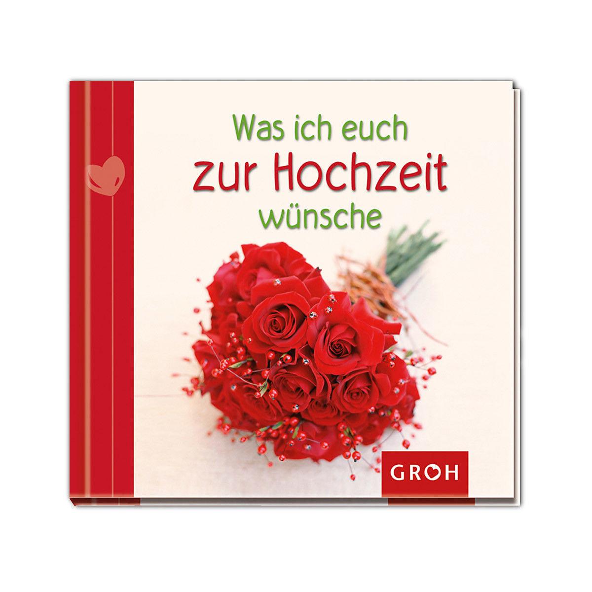 Buch Zur Hochzeit  Buch Was ich euch zur Hochzeit wünsche Depot DE