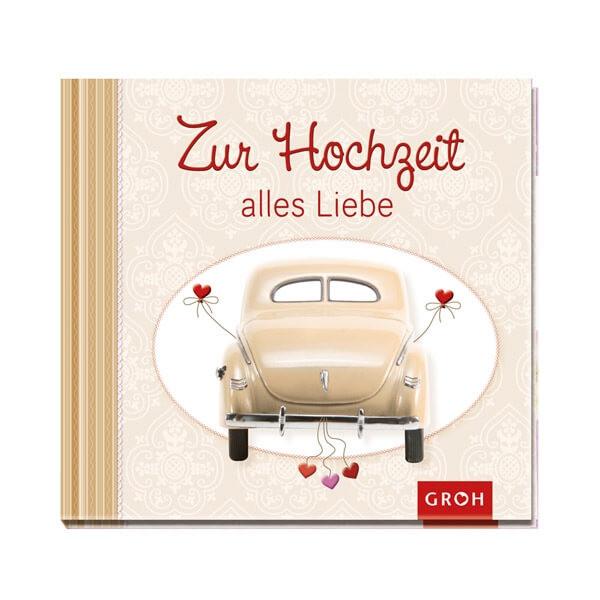 Buch Zur Hochzeit  Geschenkbuch zur Hochzeit weddix
