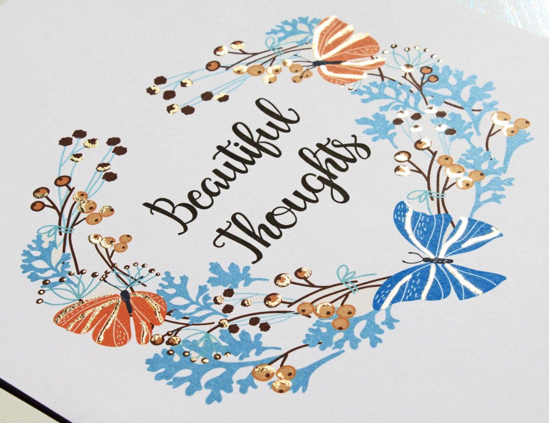 Butterfly Geschenke  Positive Affirmation Butterfly Geschenke Schmetterling