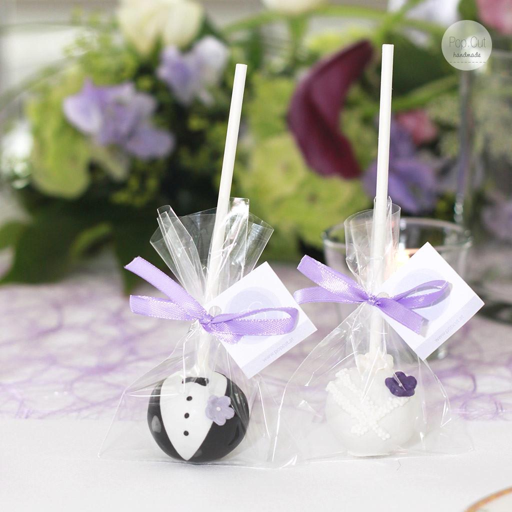 Cake Pop Hochzeit  Hochzeit Pop Cut