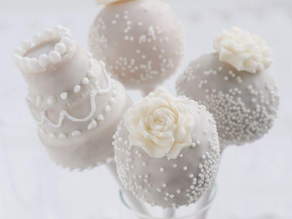 Cake Pop Hochzeit  Cake Pops zur Hochzeit Rezept