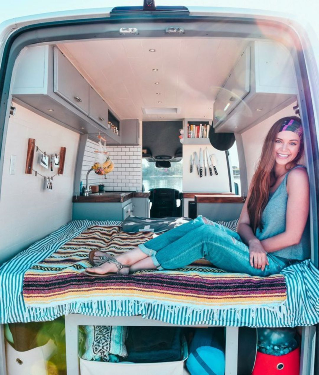 Camping Geschenke  20 fortable RV Bedroom Decor Ideas You Must Try