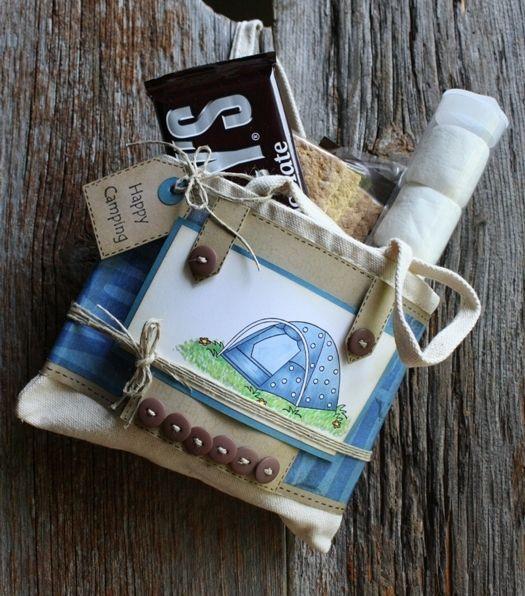 Camping Geschenke  Cute camping bag