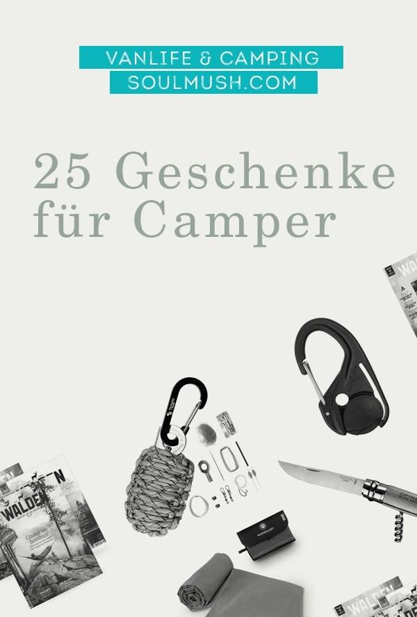 Camping Geschenke  Geschenke für Camper 25 individuelle Geschenkideen