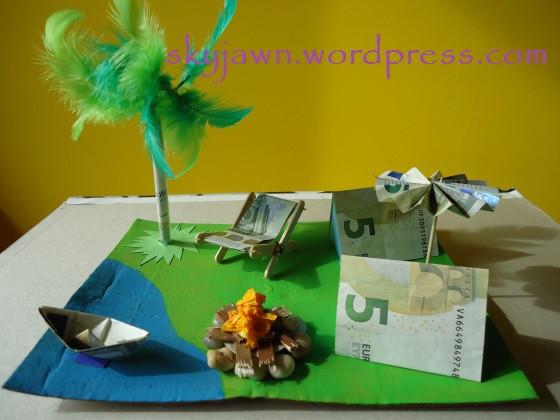 Camping Geschenke  Geldgeschenk