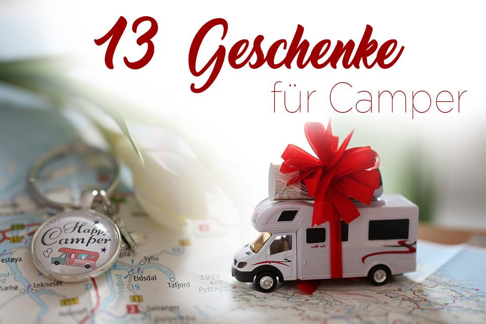Camping Geschenke  Geschenkideen für Camper Die Roa s mit dem Wohnmobil