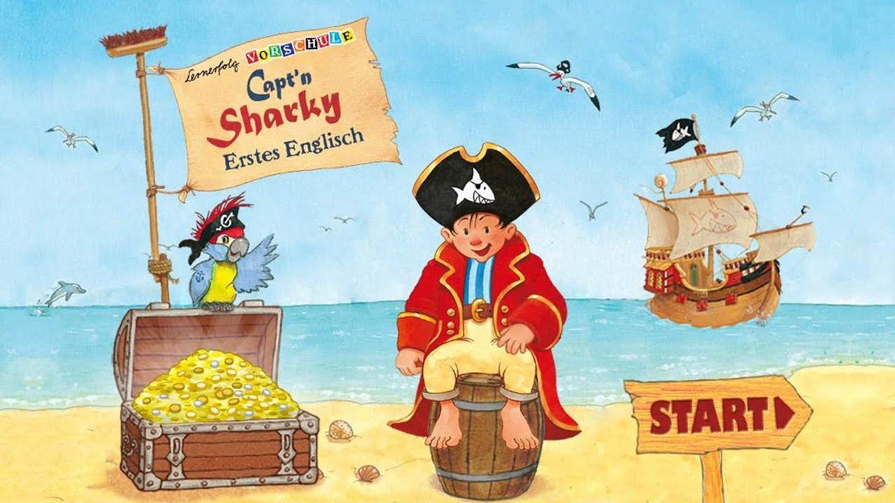 Capt N Sharky Ausmalbilder  Capt n Sharky Erstes Englisch Lernerfolg Vorschule App