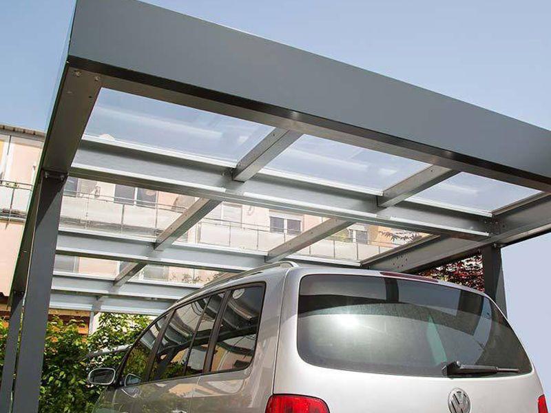 Carport Dachmaterial  Siebau Carport Dach transparent bauemotion