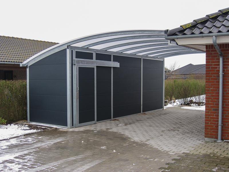 Carport Dachmaterial  Carport Dach Kunststoff – lichtdurchlässige
