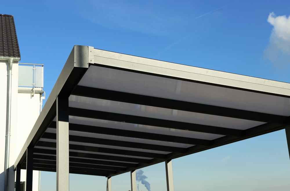 Carport Dachmaterial  Carport bauen Kosten Vorteile und Nachteile