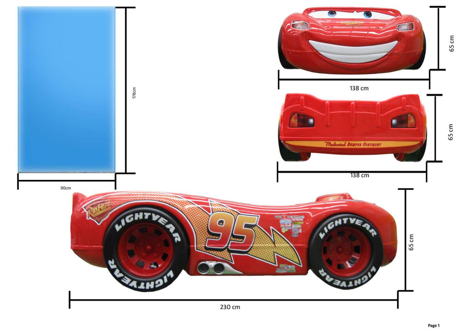 Cars Bett  Autobett McQueen Disney Cars Lightning Bett Cars
