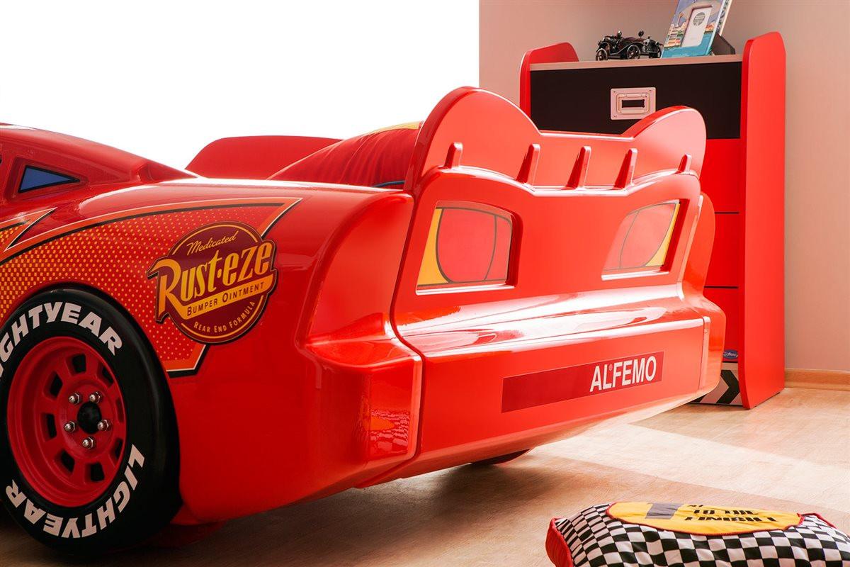 Cars Bett  Autobett Cars und Cars Möbel Bett Kinderbett