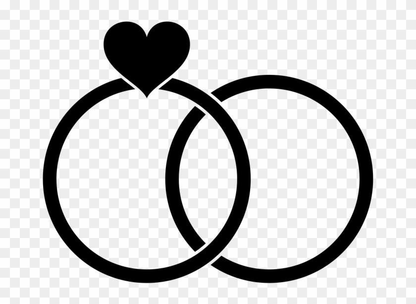 Clipart Hochzeit Schwarz Weiß  Hochzeit Clipart Schwarz Weiß Kostenlos Wedding Rings