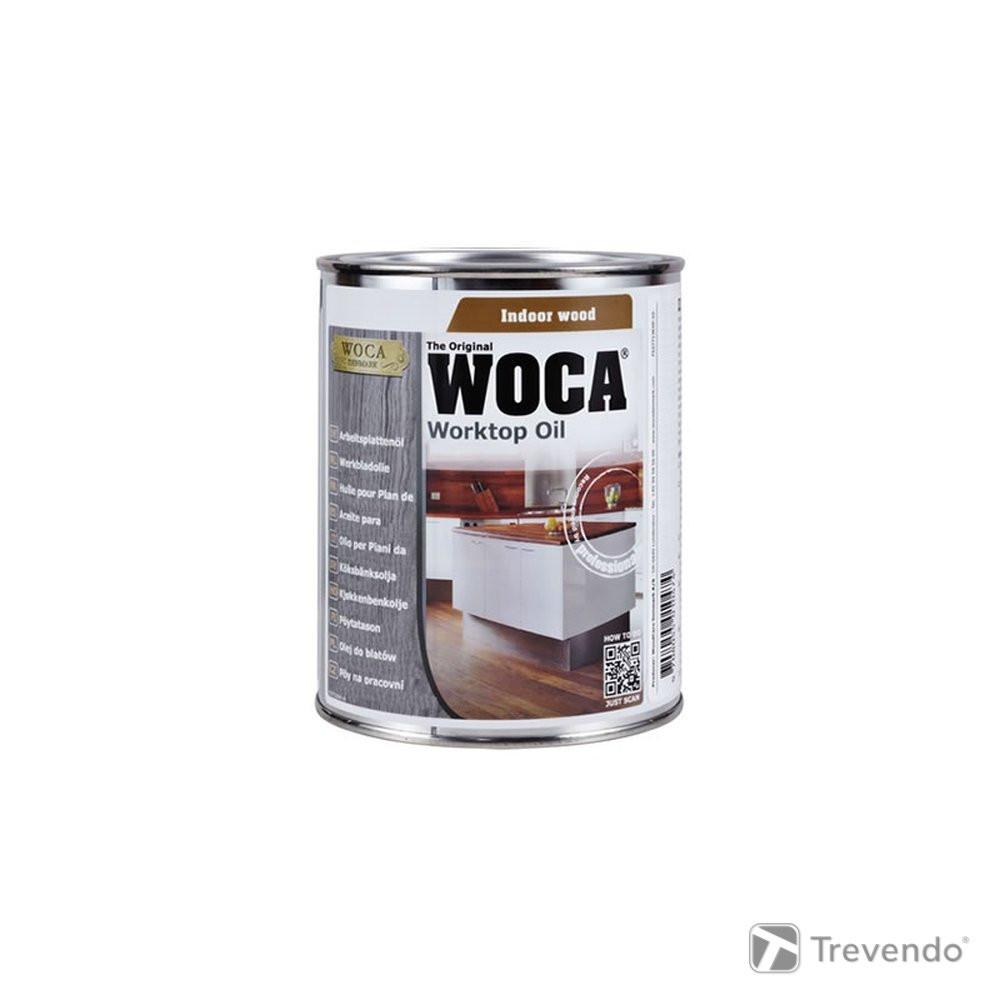 Clou Arbeitsplattenöl  Woca Arbeitsplattenöl natur oder weiss 0 75 Liter