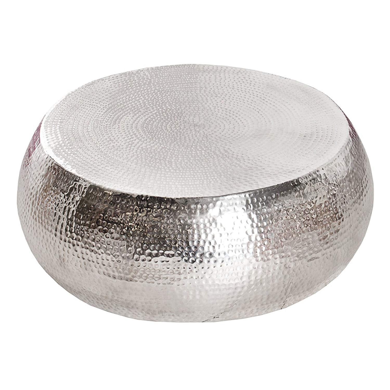 Couchtisch Silber  Couchtisch Silber Rund Schn Couchtisch Rund Metall Design