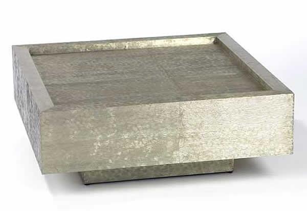Couchtisch Silber  Lambert Couchtisch Tresor Silber