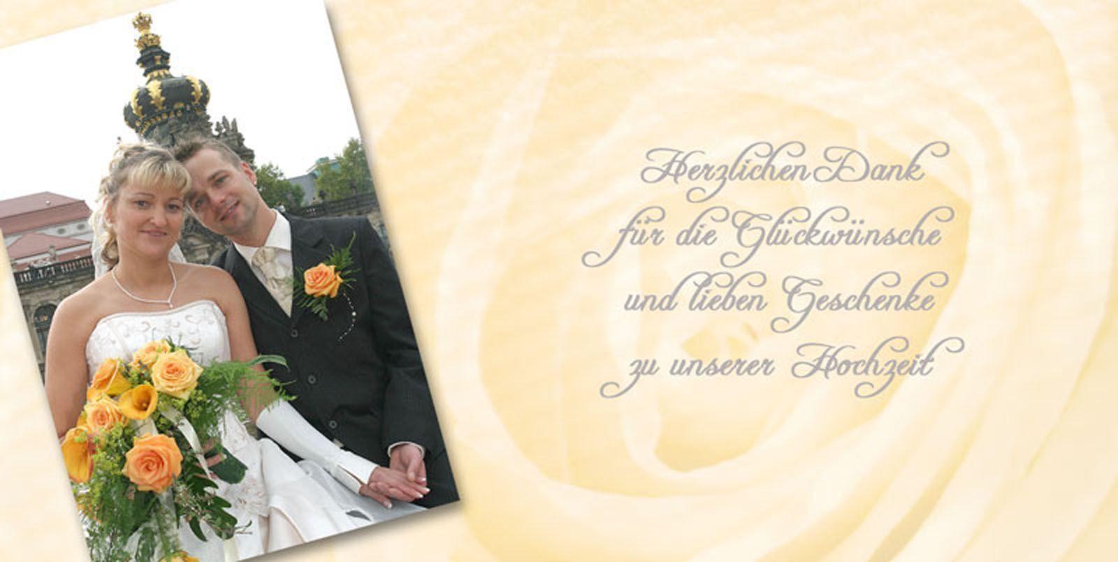 Dankeskarte Hochzeit Text  Dankeskarte Hochzeit Text Danksagung Hochzeit Text