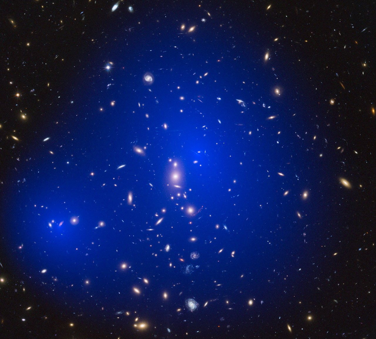 Dark Matter  Dark matter even darker than once thought