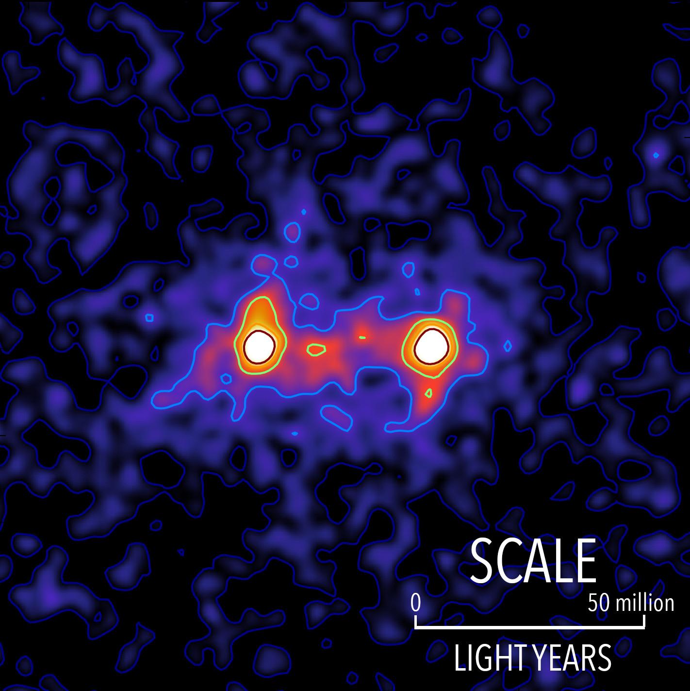 Dark Matter  Researchers capture first image of a dark matter web